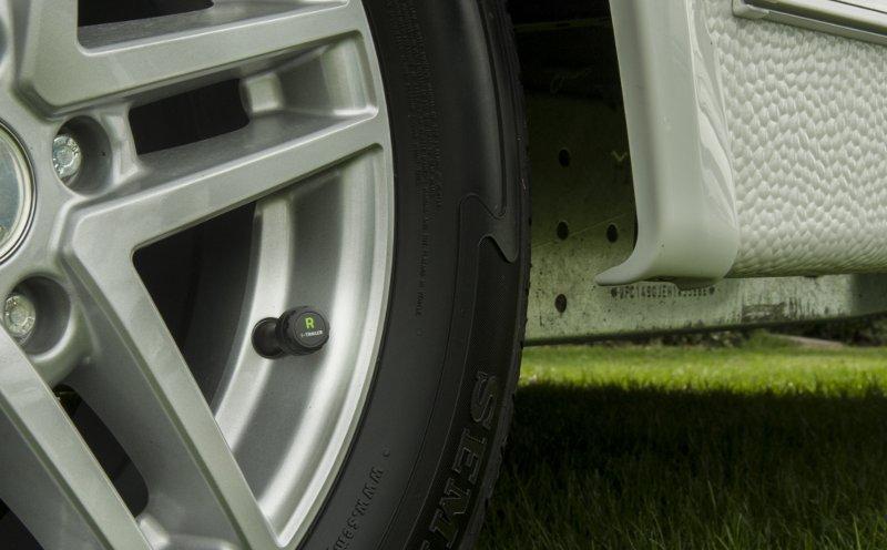 Mål dæktryk med smart-trailer app'en