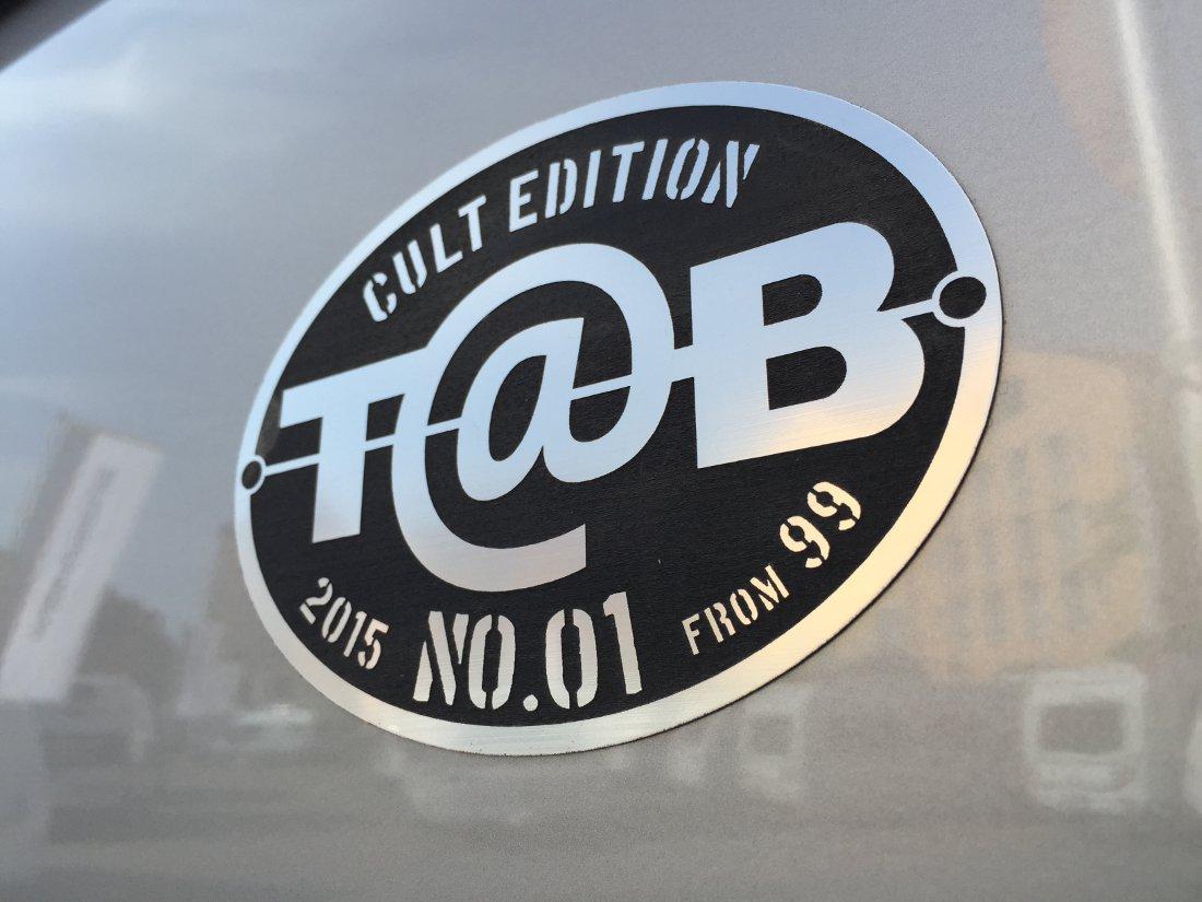 T@B laver CULT EDITION af den populære campingvogn fra T@B