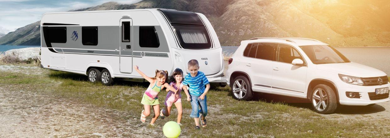 Campingvogne og autocampere fra Knaus-Tabbert-Weinsberg-T@B-Morelo